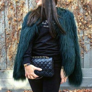 Jackets & Blazers - Fluffy Faux Fur Coat